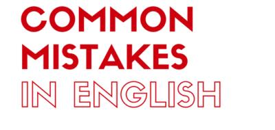 Errores Frecuentes En Ingles Parte Ii Nep English School
